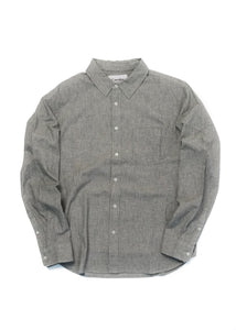 CORRIDOR BASKETWEAVE GREY SHIRT