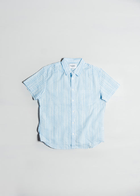 CORRIDOR WATERCOLOR STRIPE SHIRT
