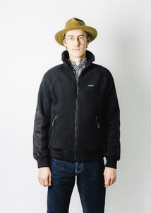 FILSON BLACK SHERPA FLEECE JACKET