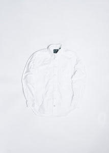 GITMAN VINTAGE WHITE OXFORD