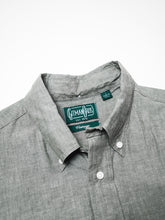 GITMAN VINTAGE SHORT SLEEVE JAPANESE CHAMBRAY SHIRT
