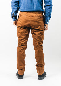 GRAMICCI BROWN TIGHT FIT NN PANT