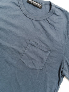 GROCERIES BLUE HERITAGE POCKET TEE