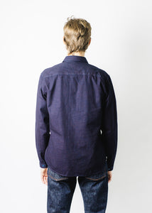 INDIGOFERA INDIGO CANVAS HOLDEN SHIRT