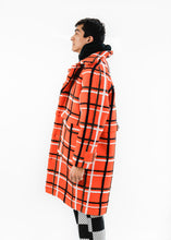 HENRIK VIBSKOV GARDENERS CHOICE ORANGE CHECK JACKET