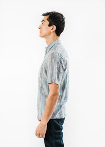 LEVIS STRIPED S/S ONE POCKET SHIRT