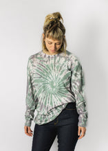 LACAUSA TIE DYE LONG SLEEVE SHIRT