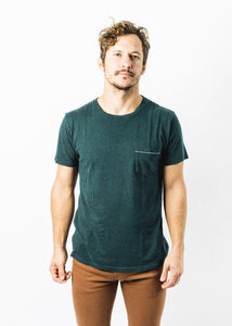 MOLLUSK BLUE ALGAE HEMP POCKET TEE