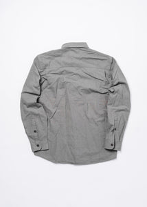 MOLLUSK MENS GREY ONE POCKET SHIRT