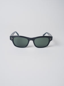 MOSCOT BLACK HYMAN SUNGLASSES