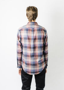 RALEIGH DENIM PLAID BUTTON UP