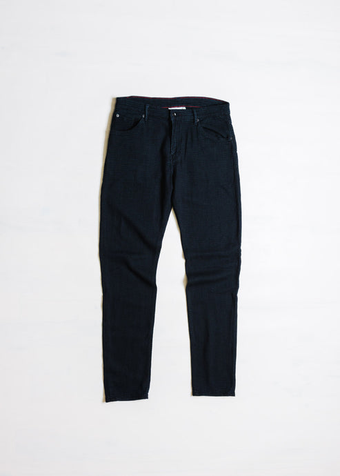 RALEIGH DENIM GRAHAM ABSTRACT PANT