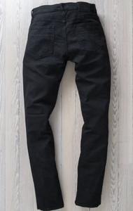 RALEIGH DENIM BLACK MARTIN STRETCH PANT