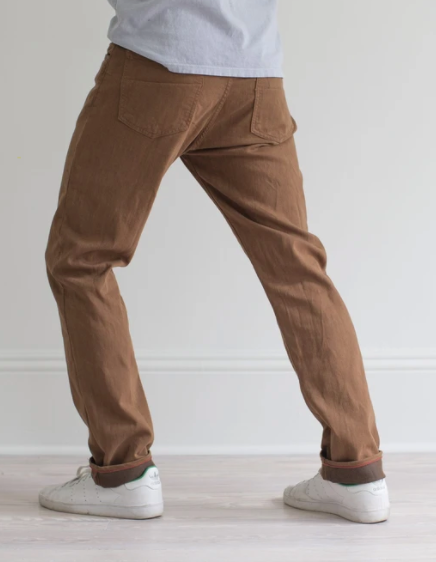 RALEIGH DENIM WHISKEY MARTIN STRETCH PANT