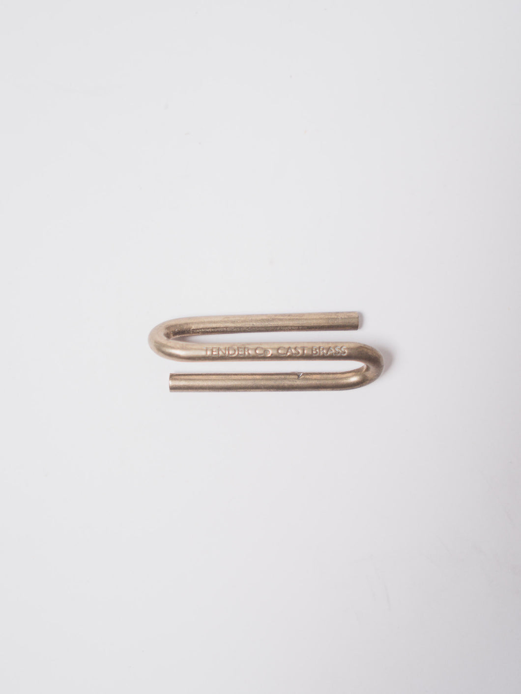 TENDER BRASS KEY HOOK