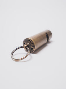 TENDER BRASS GUARDS WHISTLE