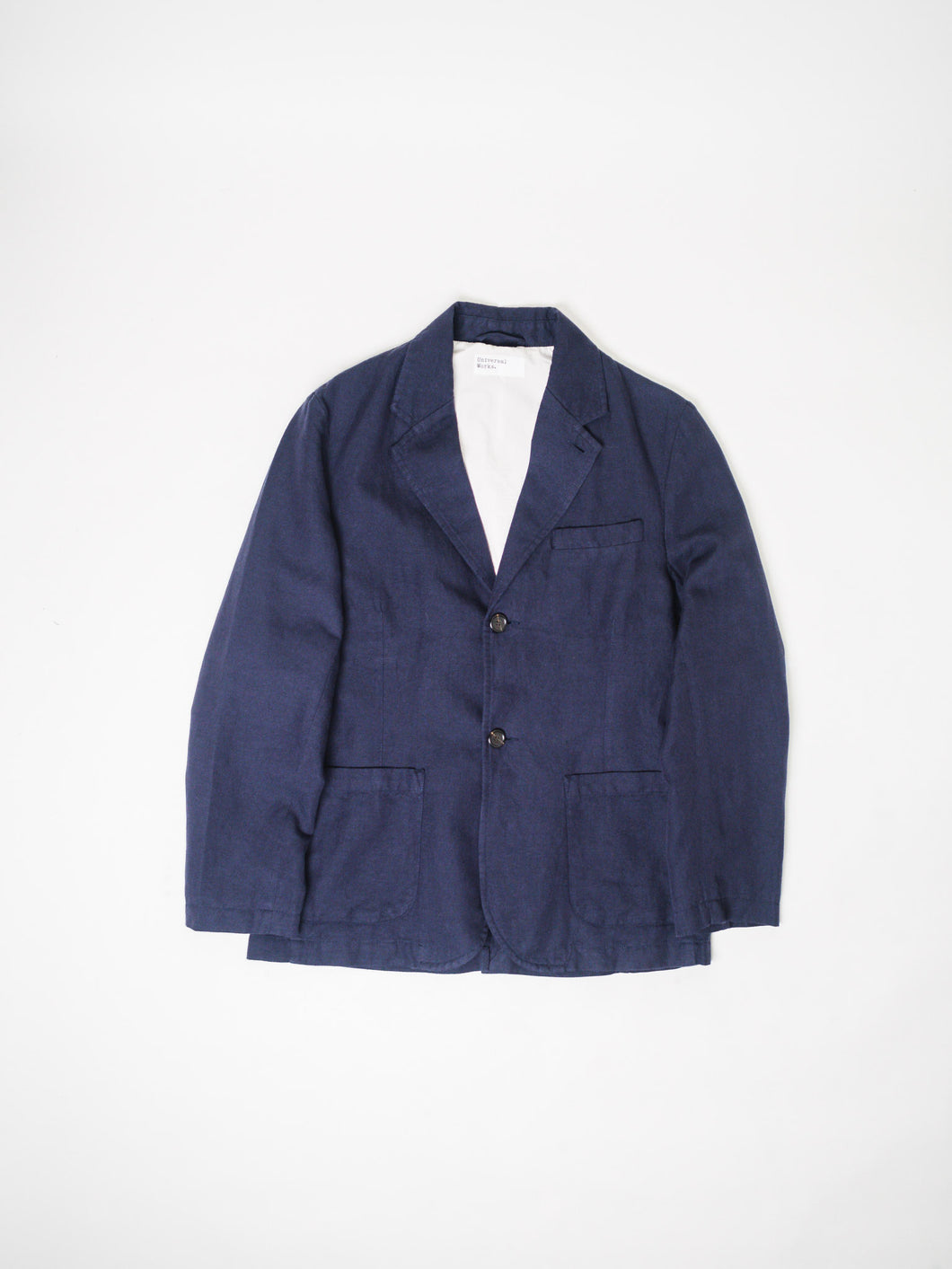 UNIVERSAL WORKS PANAMA TWO BUTTON JACKET