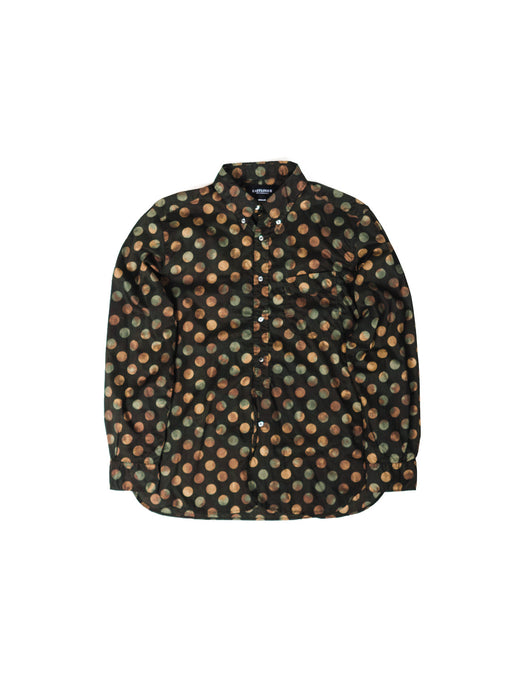 EASTLOGUE OLIVE DOT B.D. SHIRT