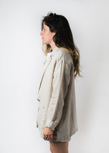 IT IS WELL WOMENS LINEN BLAZER