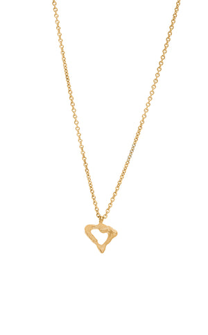 Melted Heart Necklace