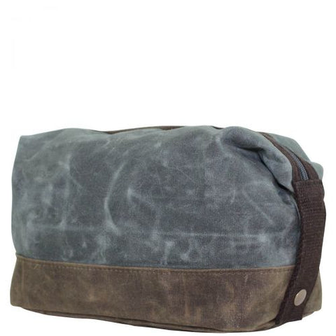 Waxed Dopp Kit