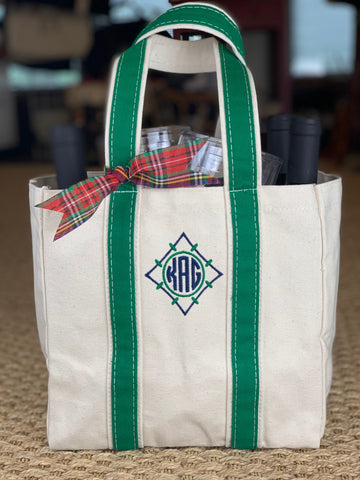 Market Tote and Wine Carrier