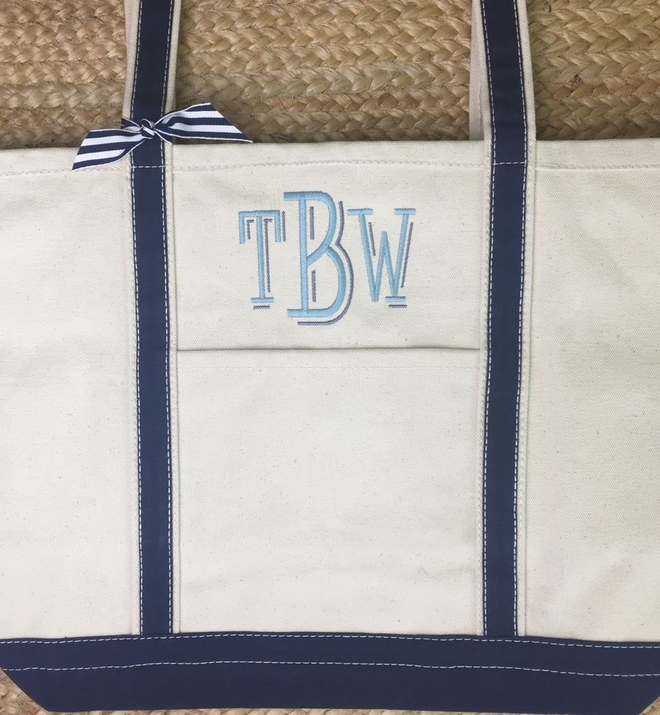 Boat Tote - Large Navy
