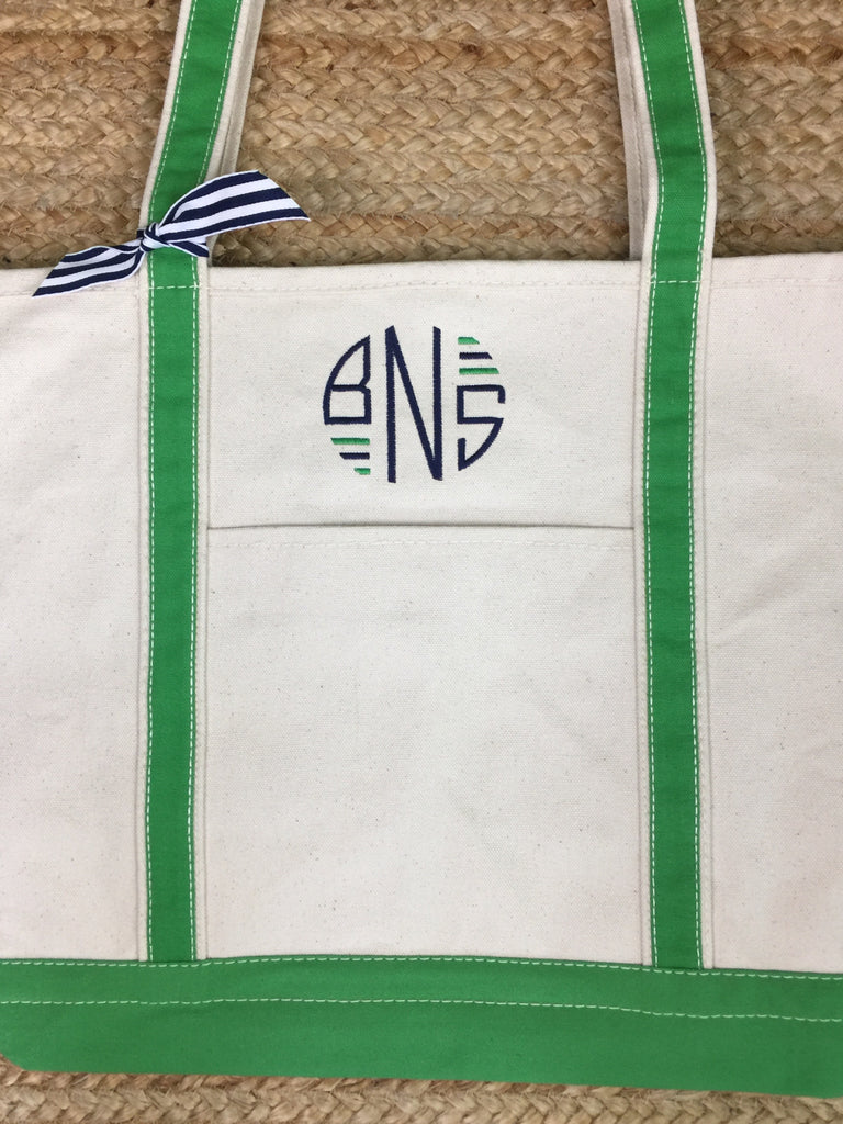 Boat Tote - Large Green