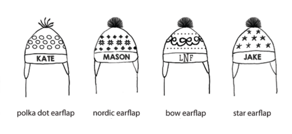 Boys Earflap Knit Hat