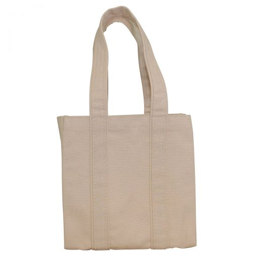 Canvas Market Tote and Wine Carrier