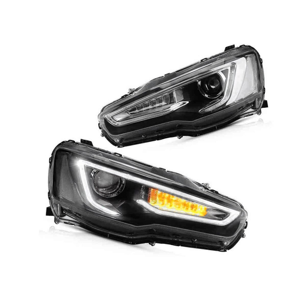 MITSUBISHI SEQUENTIAL LED HEADLIGHTS