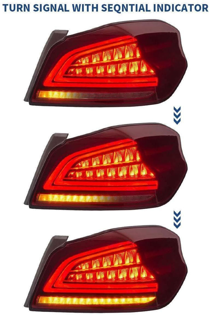 SUBARU WRX STI SEQUENTIAL LED TAIL LIGHTS