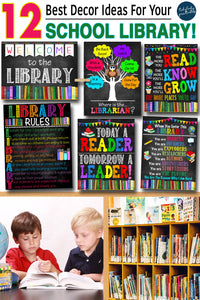 12 Best Decor Ideas for your School Library