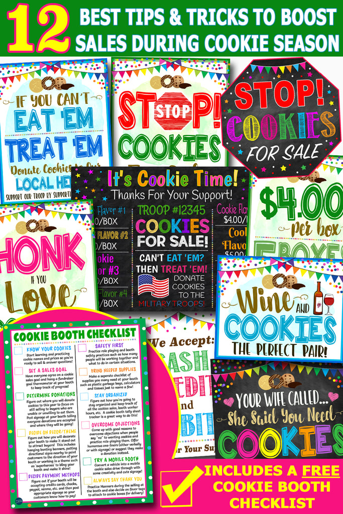 Girl Scout Cookie Sale Tips And Tricks