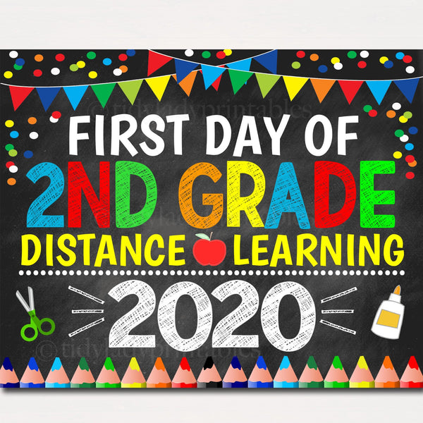 first day of school virtual