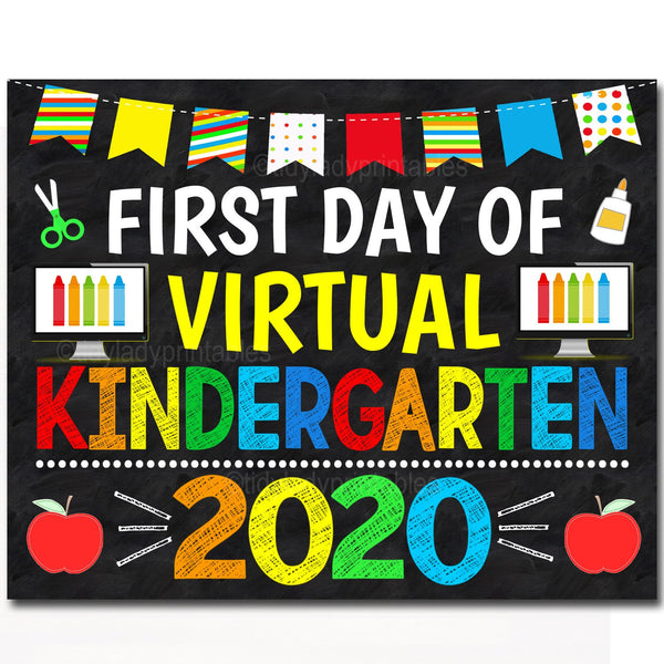 first day of virtual school