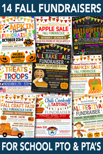 school pto pta fall fundraiser ideas