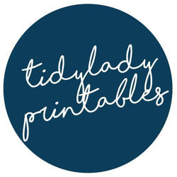 Tidy Lady Printables