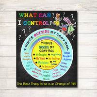 School Counselor Poster, Behavior Therapy, Child Therapist, Guidance Counselor Office Decor, Counselor Office Wall Art, Child Psychologist