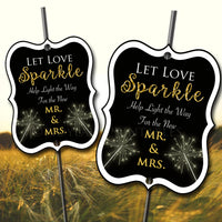 PRINTABLE Sparkler Send Off Tags, Wedding Sparkler Send Off Sparkler Tags, Wedding Sparkler Let Sparks Fly Let Love Sparkle INSTANT DOWNLOAD