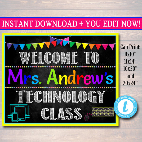 CUSTOM IT Computers Teacher, Information Technology Teacher Class, Computer Lab School Sign, Computer Lab Decor, IT Sign, Teacher Door Sign