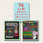School Nurse Decor, Pediatric Nurse Decor, Nursing Signs, INSTANT DOWNLOAD, Custom Nurse Wall Art, Doctor Office Decor, Nurse Superhero