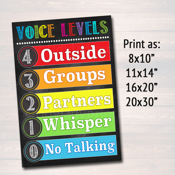 photo regarding Classroom Rules Printable titled Voice issue Chart Clroom Decor, Clroom Procedures Poster Clroom Recommendations Poster, Clroom Control Printable Trainer Immediate Obtain