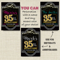 35th Birthday Wine Labels, Cheers to 35 Years, 35th Birthday Gift, 35th Party Vintage Aged to Perfection 35th Printable ANNIVERSARY