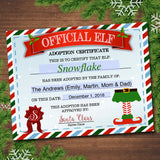 EDITABLE Elf Adoption Certificate, Elf Letters Notes from the Elf, Elf Report Card, Elf Activity Santa North Pole Printable INSTANT DOWNLOAD