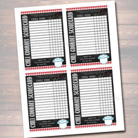 Chili Cookoff Party Set, Awards, Party Signs, Scorecards Holiday BBQ Printable Chili Label Prizes, Potluck Company Party, Fundraising Event