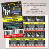 EDITABLE Mother Son School Dance Set, Dance Flyer Party Superhero Invitation, Fundraiser Church Community Event, pto, pta, INSTANT DOWNLOAD