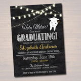 Dental Graduation Invitation, Chalkboard Printable, Dentist College Graduate, Grad Party Invite, Dental Hygienist,