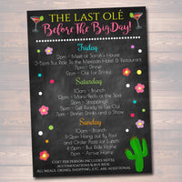 EDITABLE Fiesta Bachelorette Party Invitation Cinco De Mayo, Girls Weekend Party Invite, Desert Cactus Boho Final Fiesta INSTANT DOWNLOAD