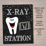 Dental Graduation Party Signs, Printable Photo Booth Props, Dentist Retirement Grad Party Invite Dental Hygienist,